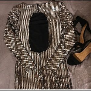 Charlotte Russe Dresses - Silver dress